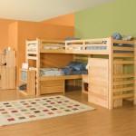 Детская комната фото и варианты планировки угловой мебели