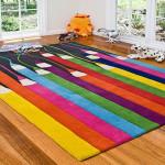 Детские ковры на пол для девочек фото яркой палитры