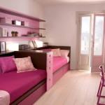 Интересная планировка детской комнаты для двоих детей фото пример