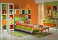 Как сочетать цвета в интерьере апельсин и лайм