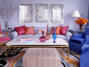 Как сочетать цвета в интерьере современного типа