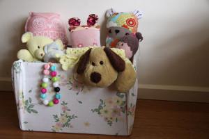 Картонные ящики для игрушек фото