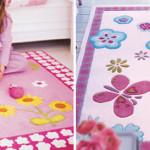 Ковры в детскую комнату для девочки