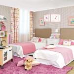 Особенная планировка детской комнаты для девочки