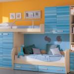 От нового производителя детская комната с подиумом и выдвижными кроватями