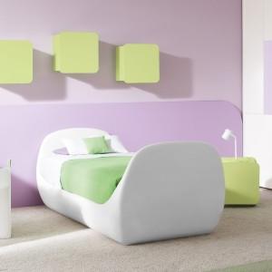 Подсветка детской кровати мягкой