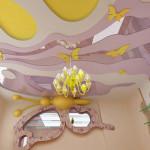 Потолок из гипсокартона в детскую комнату фото эскиз