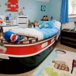 Шикарный дорогой детский ковер для мальчика в морском стиле