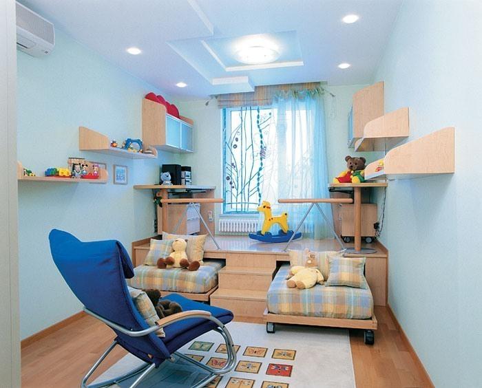 Как расположить подиум в детской комнате фото инструкция