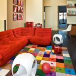 Цветные ковры детские фото