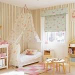 Балдахин на детскую кроватку фото со шторами