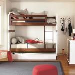 Деревянный детский диван кровать с бортиками