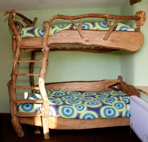 Детская двухъярусная кровать своими руками фото