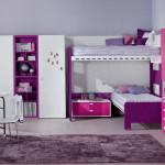 Детские кровати для девочек фото в стиле минимализм