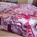 Домашние красивые покрывала на кровать в спальню фото