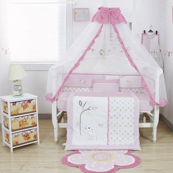 Детская кроватка своими руками как украсить 494