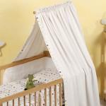 Как повесить балдахин на детскую кроватку легко