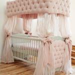 Как установить балдахин на детскую кроватку с разной тканью