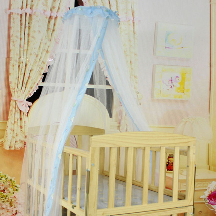 Балдахин на детскую кроватку своими руками пошагово