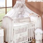 Красивый балдахин на детскую кроватку своими руками пошагово