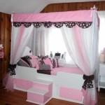 Кровать для девочки фото мебели в разных тонах
