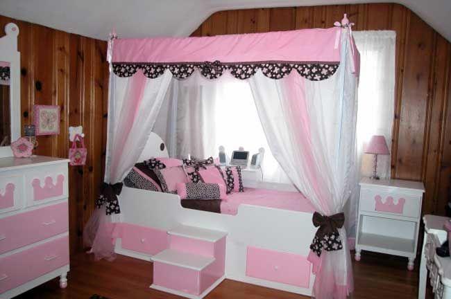 Фото кроватей для девочек своими руками
