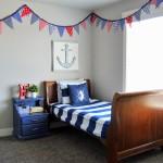 Кровать для мальчика от 3 лет в морской тематике