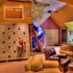 Мягкий детский диван кровать с бортиками