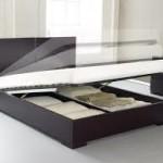 Односпальные кровати с ящиками для белья внутри