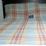 Покрывало на двуспальную кровать фото своими руками в клетку