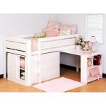 Практичная детская кровать с ящиками для хранения
