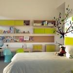 Привлекательный сделанный ремонт в детской комнате фото