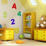 Сказочный ремонт в детской комнате фото
