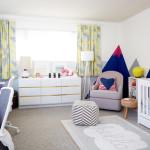Светлый ремонт детской комнаты фото для разнополых детей