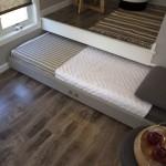 Выдвижная кровать подиум с очень удобным матрасом