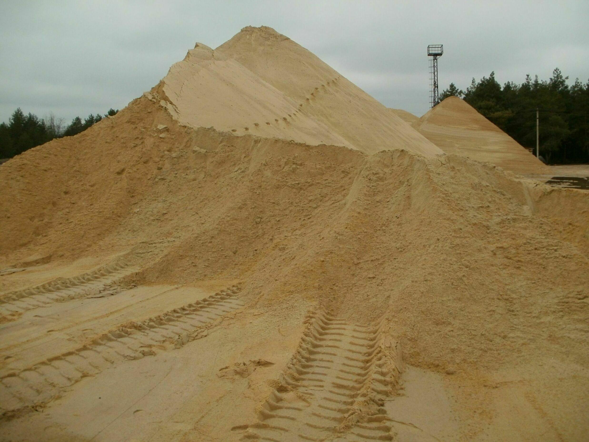 Как выбрать и купить песок для стройки