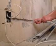 Как заменить проводку в разных квартирах