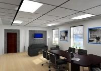 Офисные потолки: требования и виды
