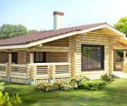 Проект одноэтажного деревянного дома: особенности, преимущества