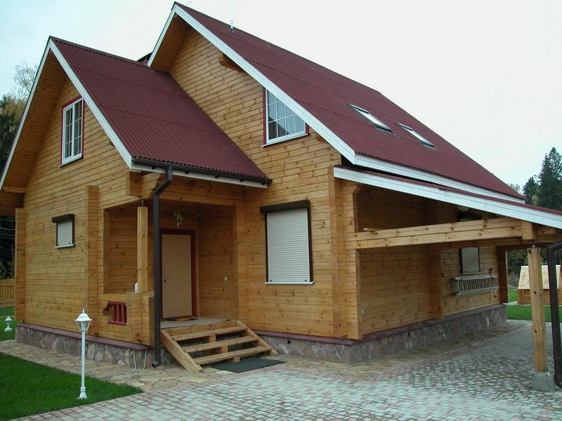 Дом из бруса: какой он бывает