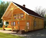 Дом из бруса: качественная постройка