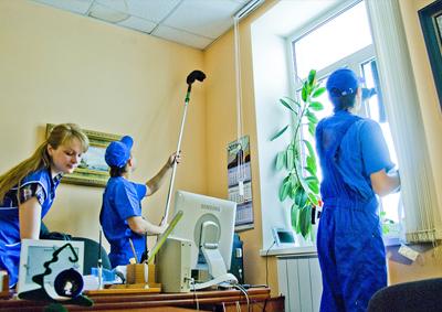 Как обеспечить постоянную чистоту в офисе