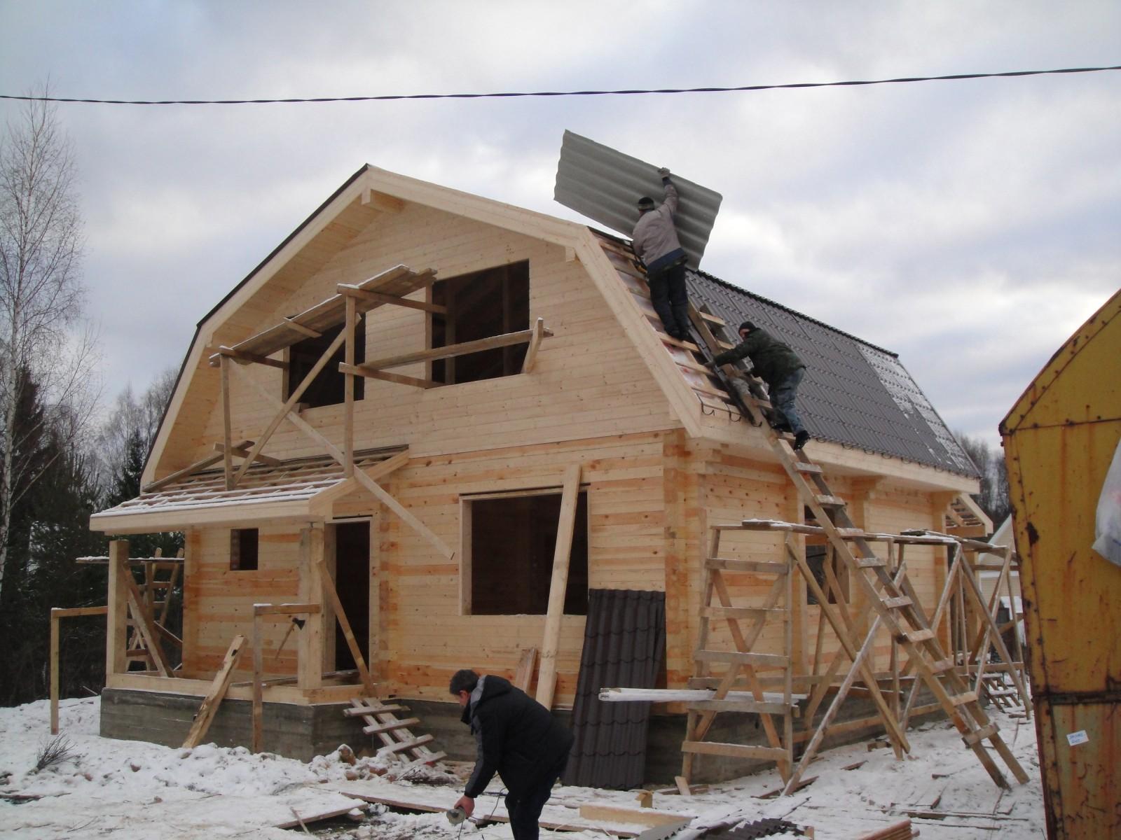 Преимущества и недостатки зимнего строительства