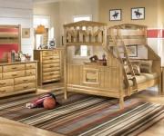 Детская мебель с двухъярусной кроватью
