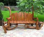 Дачные скамейки максимальной устойчивости