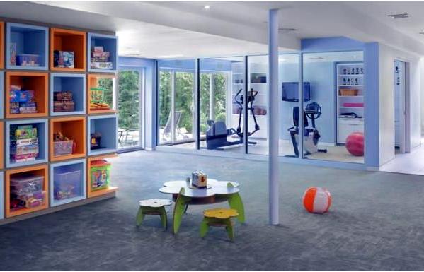 Дизайн игровой комнаты