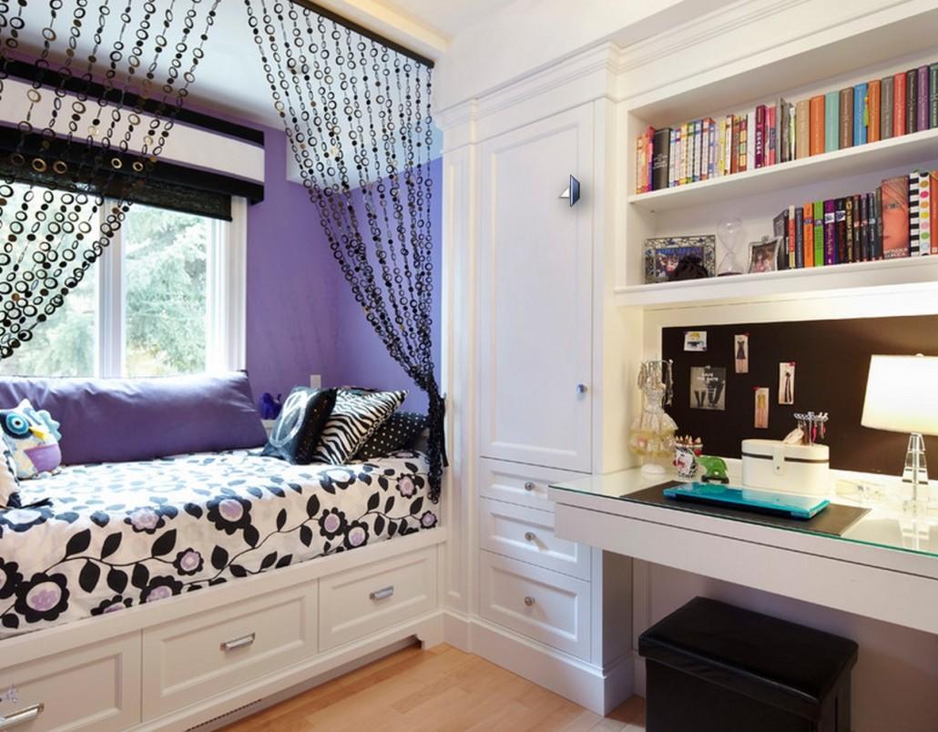 - Teenager girl simple home ...