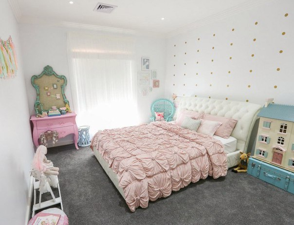 стильный интерьер детской комнаты
