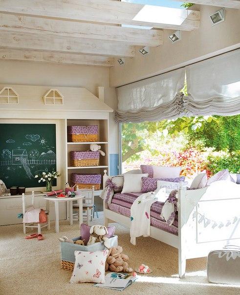 детская комната в стиле лофт