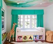 Комната малыша в зеленой палитре – идеальный выбор с пользой для ребенка